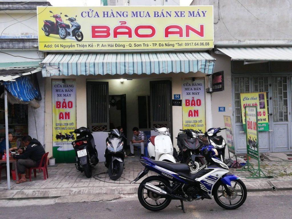 Mua bán xe máy cũ Đà Nẵng