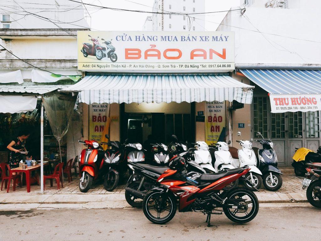 cửa hàng thuê xe máy bảo an đà nẵng