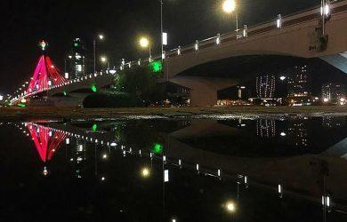 Sông Hàn soi bóng về đêm...