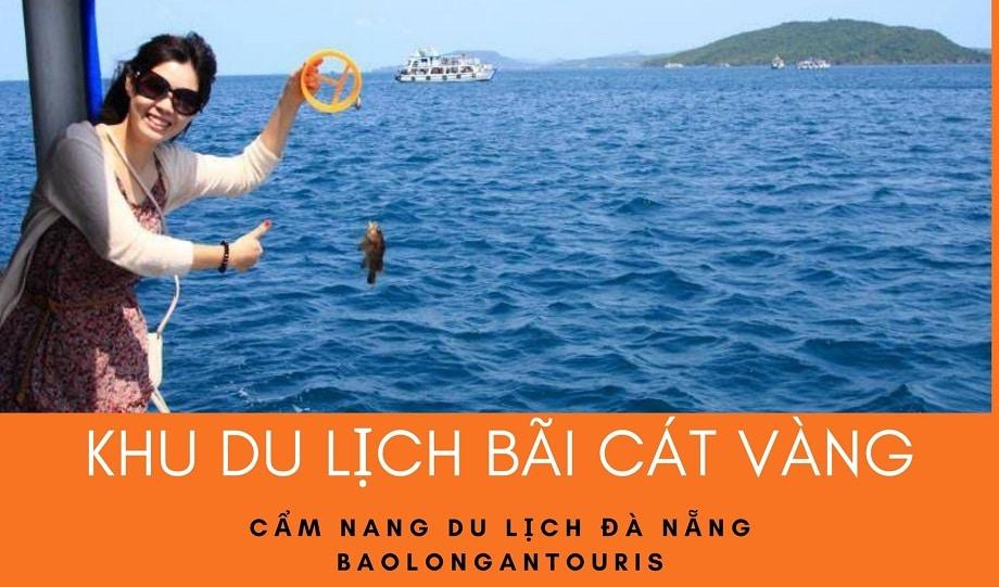 Câu cá trên vùng biển của khu du lịch