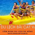 Thể thao biển - canô kéo phao chuối