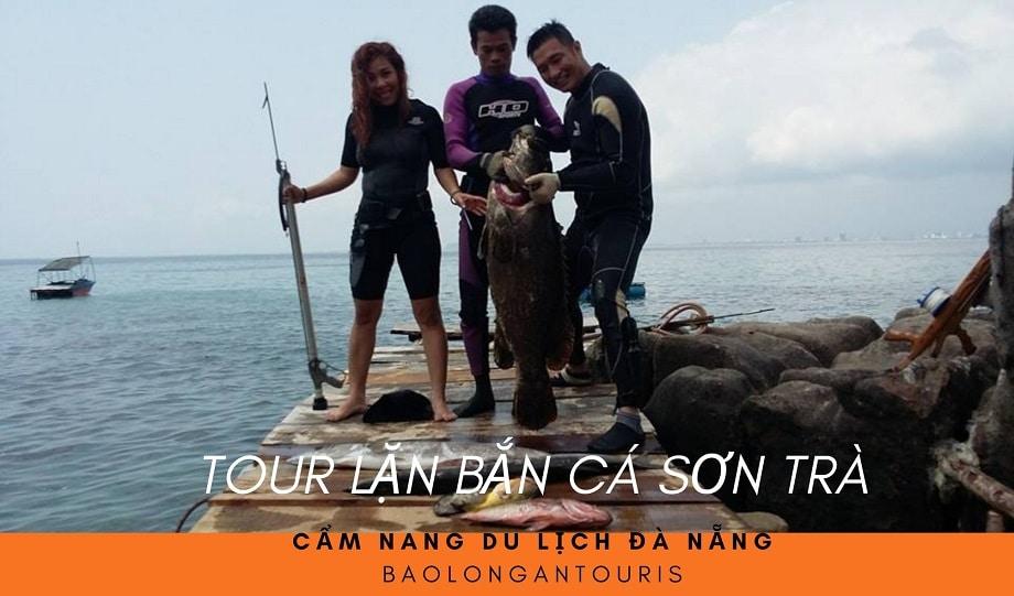 Tour lặn bắn cá Sơn Trà